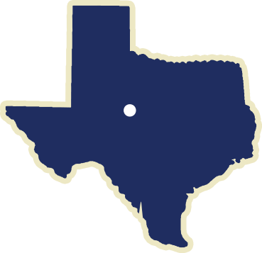 State of Texas Map, Abilene, Texas